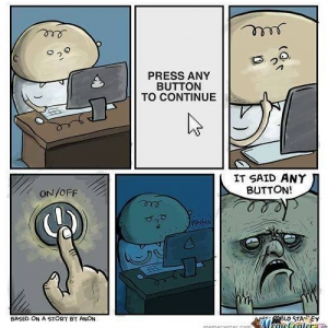 Press a button