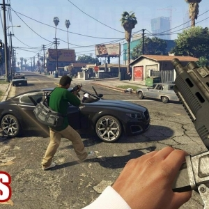 Grand Theft Auto V (PS4/XB1/PC) - First Person Mode Trailer (60fps) [1080p] TRUE-HD QUALITY - YouTube