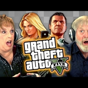 Elders Play Grand Theft Auto V (Elders React: Gaming) - YouTube