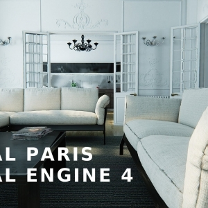 UNREAL PARIS - Virtual Tour - Unreal Engine 4 - YouTube
